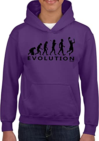 Sudadera «Evolution» de baloncesto para niños, con capucha, diseño ...