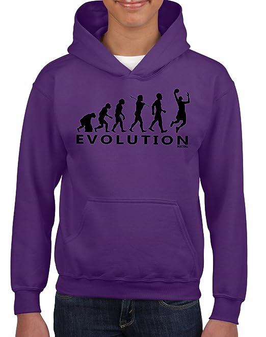 Sudadera «Evolution» de baloncesto para niños, con capucha, diseñ