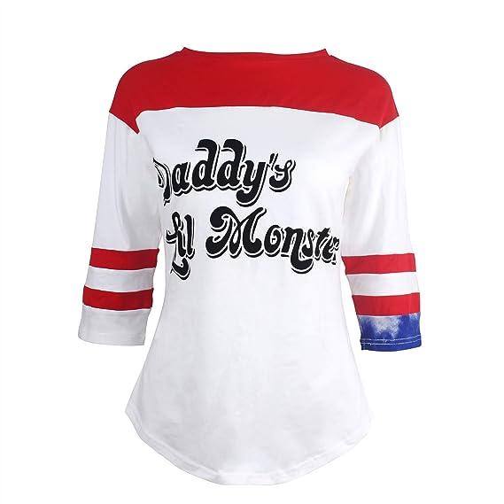 Udekit Harley Quinn Disfraz de Cosplay para Mujeres Niñas: Amazon ...