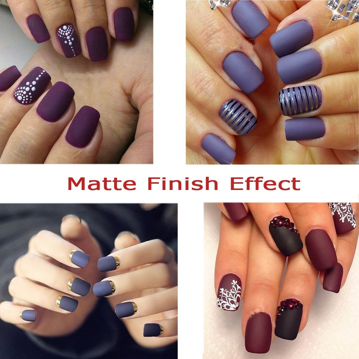 Amazon.com : Perfect Summer Matte Top Coat - UV LED Clear Gel Nail ...