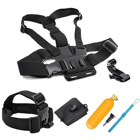 SHOOT 5in1 Kit de Accesorios Deportes al Aire Libre Bundle para GoPro Hero 8/7/6/5/4/3+/3/SJCAM/SJ4000/SJ5000/Victure/APEMAN/Xiaomi Yi Cámara de ...