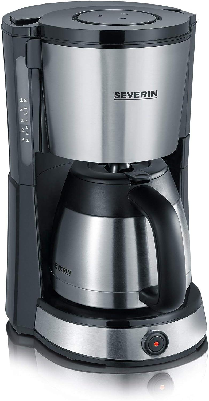 SEVERIN KA 4132 Cafetera Selectpara filtros de Café Molido, 8 ...