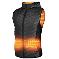 Deals on AKASO Mens Nomad Battery Heated Vest