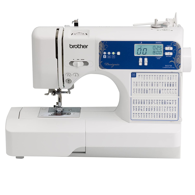 Amazon.com: Brother Designio Series DZ2750 Computerized Sewing ... : computerized sewing and quilting machine - Adamdwight.com