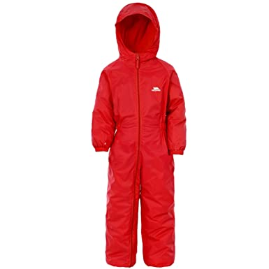 08a8d242dd41 TRESPASS DRIPDROP CHILDS ALL IN ONE PADDED WATERPROOF RAIN SNOW SUIT ...