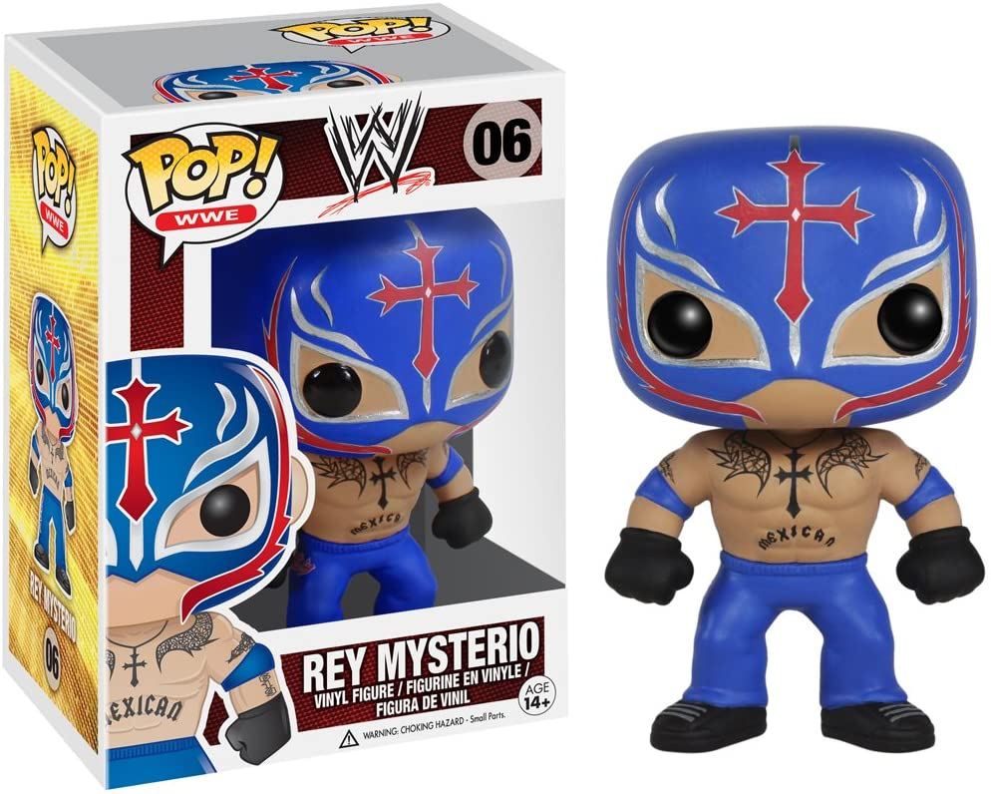 Funko POP WWE C.M Punk Action Figure,Multi-colored,3.75 inches