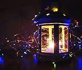 Solar String Lights Multi Color, Ankway 200 LED