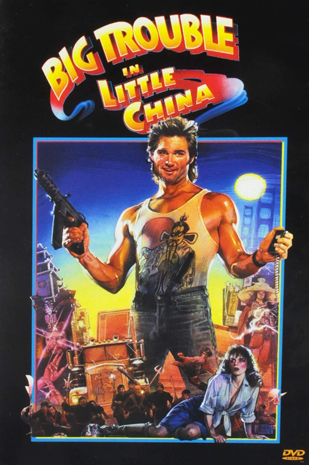 Amazon.com: Big Trouble in Little China: Kurt Russell, Kim ...