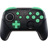 eXtremeRate Mint Green Repair ABXY D-pad ZR ZL L R Keys for Nintendo Switch Pro Controller, DIY Replacement Full Set…