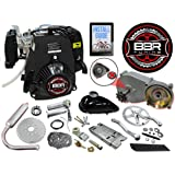 BBR Tuning 49cc 5G Pull Start Bicycle Engine Kit – 4 Stroke Gas Powered Bike Motor Engine Kit