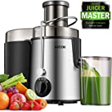 """Centrifugal Juicer, Juice Extractor with Best pulp filter, 3"""" Feed ChuteJuicer Machine for Whole Fruit Vegetable, Ease…"""