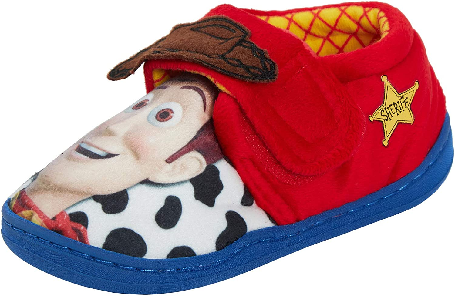 Disney Boys Toy Story Woody Slippers Shoes Size