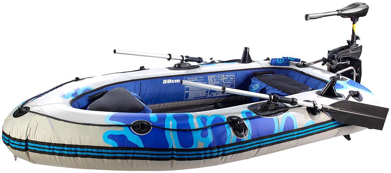 Speeron Schlauchboot mit Elektro-Motor 2,5 PS / 40 lbs