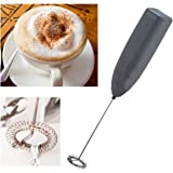 IKEA Black Milk Frother Battery-Run Instant Froth Coffee Milk Maker Whisk