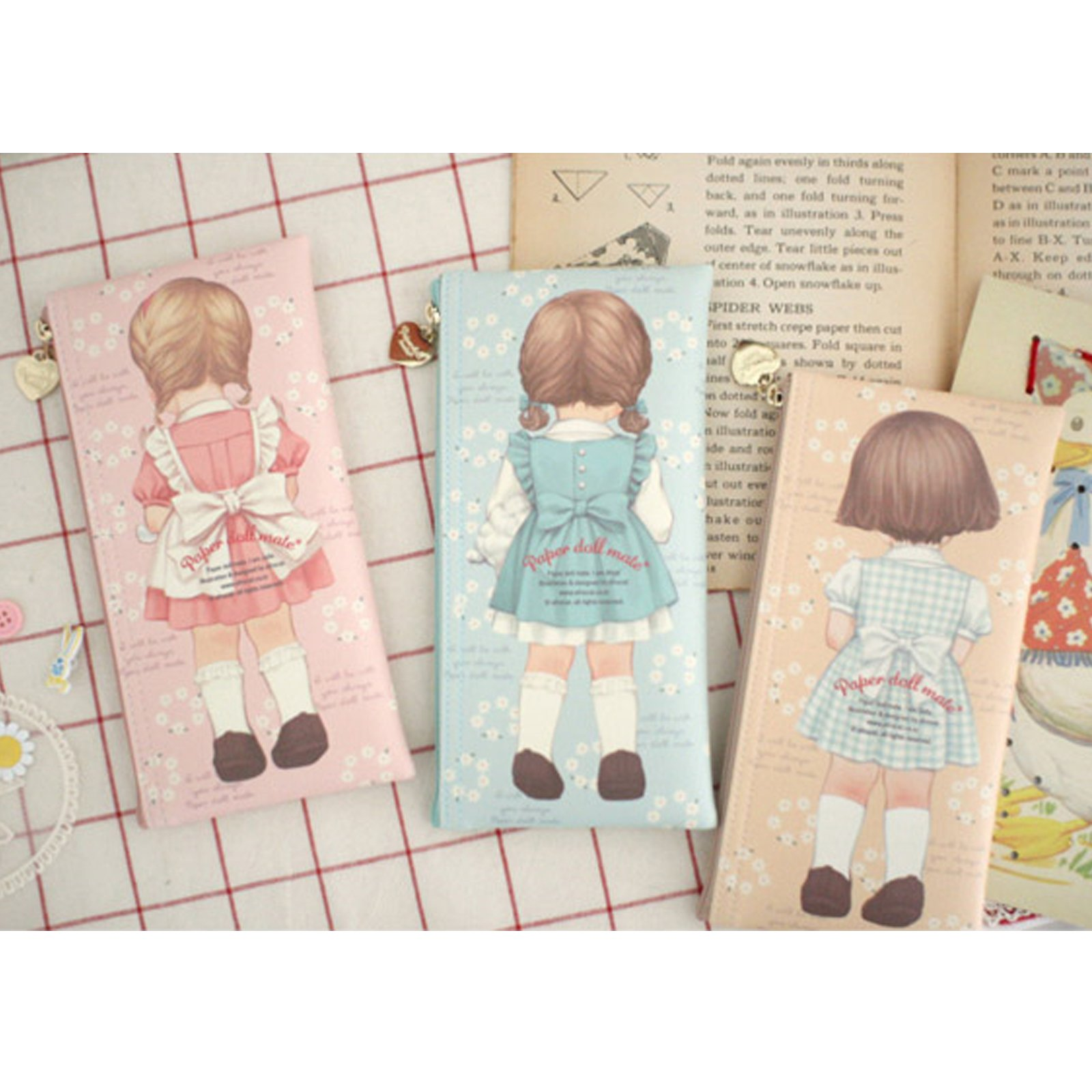 paperdollmate pencase ver007_blooming Alice by paper doll mate (Image #4)