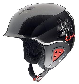 Carrera CJ 1 Casque de ski pour enfant (Noir Rouge), Schwarz, 53-57 ... c919fe4617a8