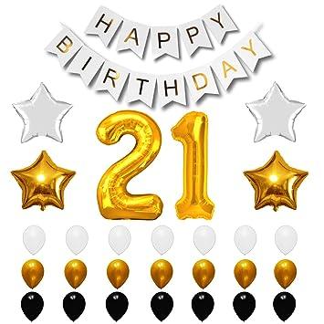 Amazon 21st BIRTHDAY BALLOONS
