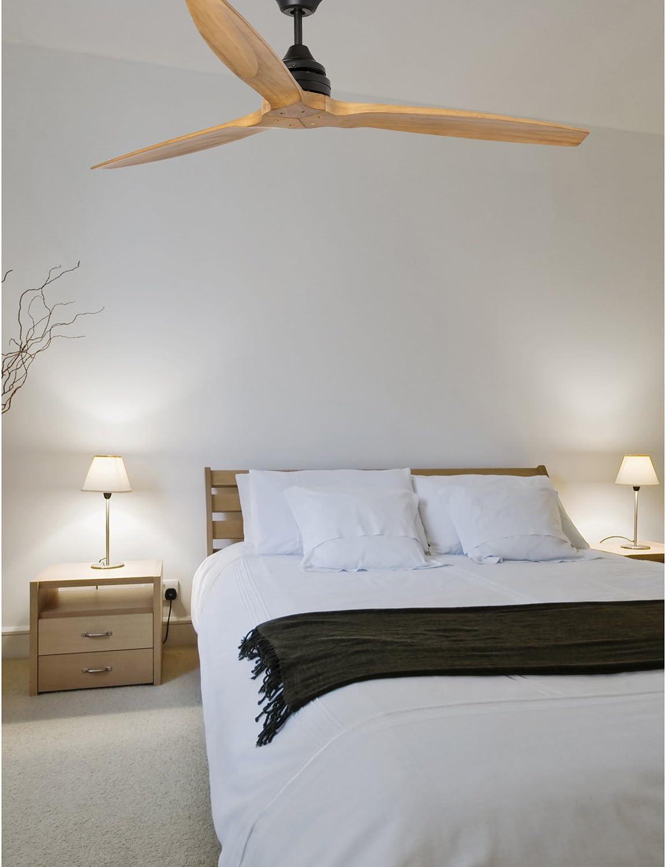 Faro Barcelona 33718 - ALO Ventilador de techo sin luz con aspas ...