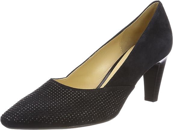 TALLA 38 EU. Gabor Shoes Gabor Basic, Zapatos de Tacón para Mujer