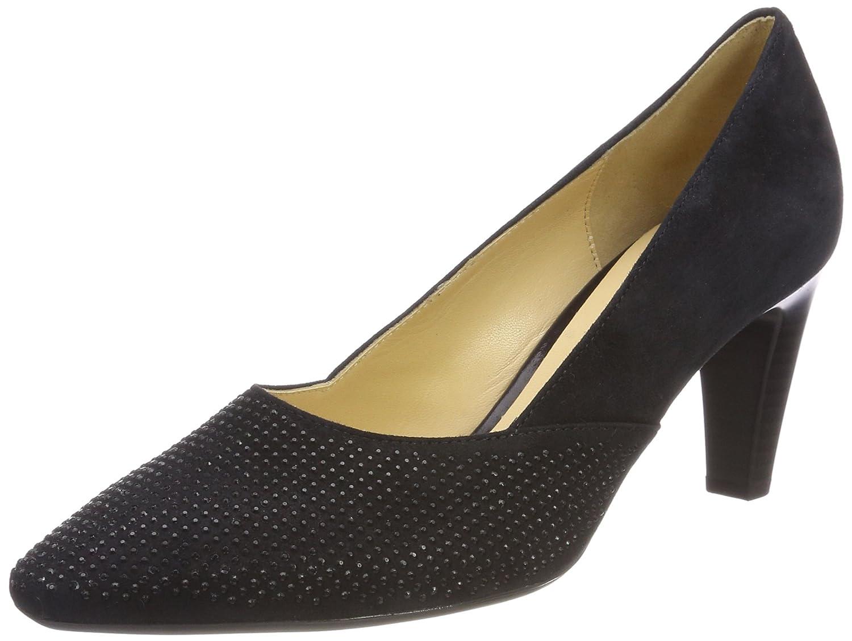 TALLA 38.5 EU. Gabor Shoes Gabor Basic, Zapatos de Tacón para Mujer