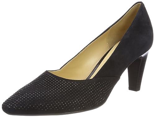 Gabor Basic, Zapatos de Tacón para Mujer, Azul (Pazifik), 38 EU Gabor