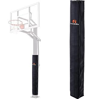 FORZA Almohadilla de Postes de Baloncesto Protecciones de Canasta de Baloncesto con Acolchado Proteger a los Jugadores Resistente y Impermeable para Uso Exterior 2 Tama/ños Disponibles