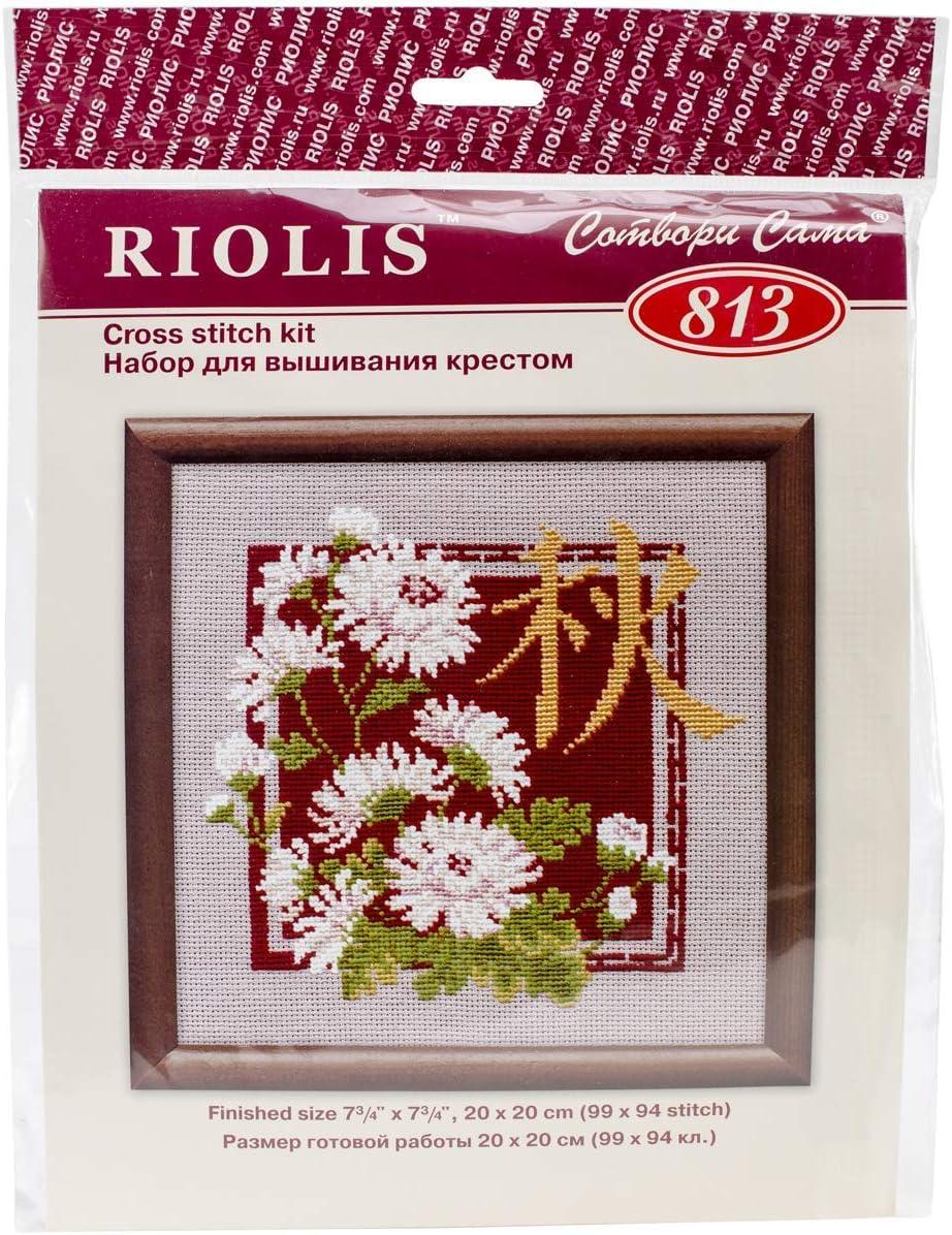 Riolis Counted Cross Stitch Kit Silent Autumn R1334