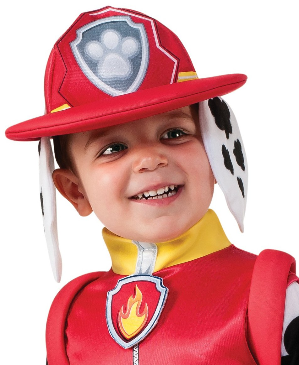 Rubie's Costume Toddler PAW Patrol Marshall Child Costume, One Color, 3-4 Years by Rubie's