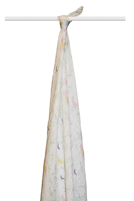 aden + anais 9100 F muselina ropa grande algodón orgánico Enchanted diseño de