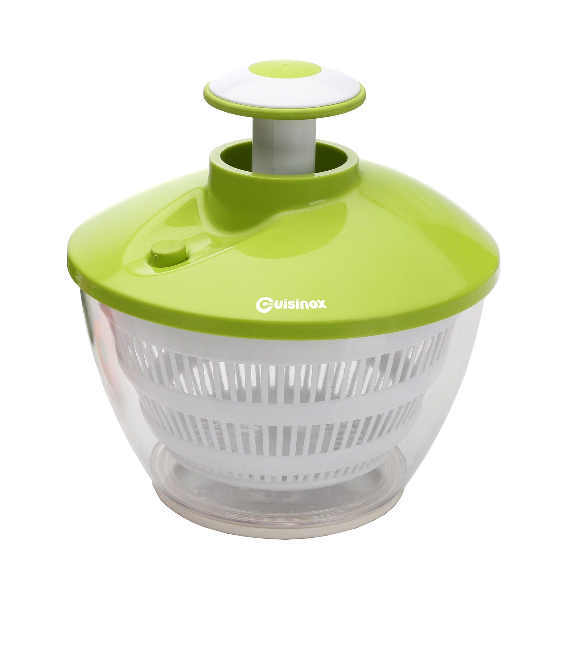 Cuisinox Pump Action Salad Spinner, Green by Cuisinox