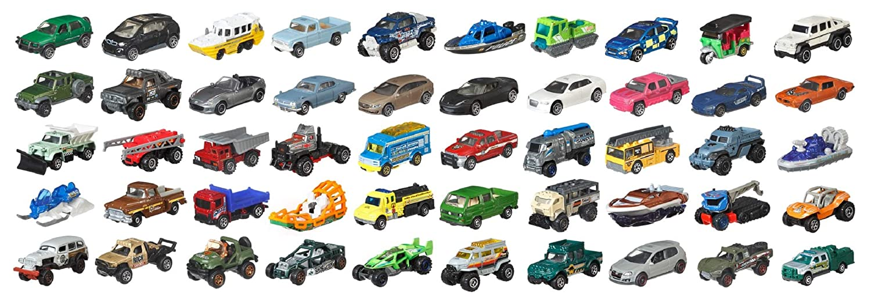 Matchbox Diecast 50 Car Pack (1:64 Scale) DKW15