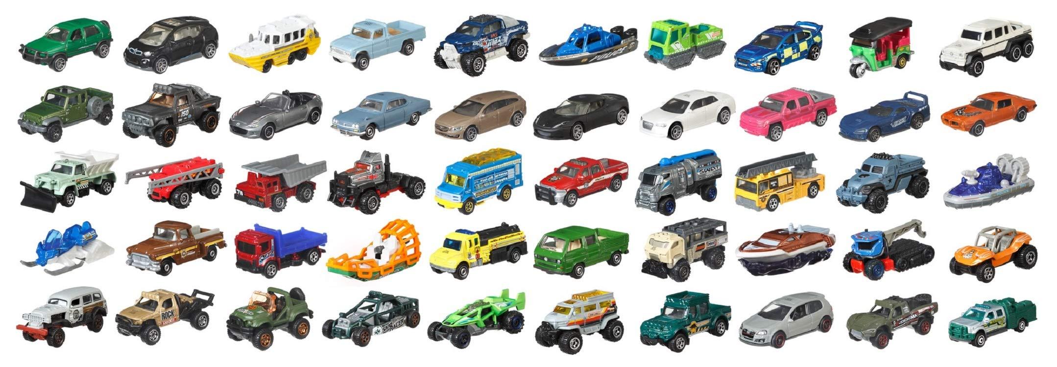 Matchbox Cars Assortment, 50 Pack