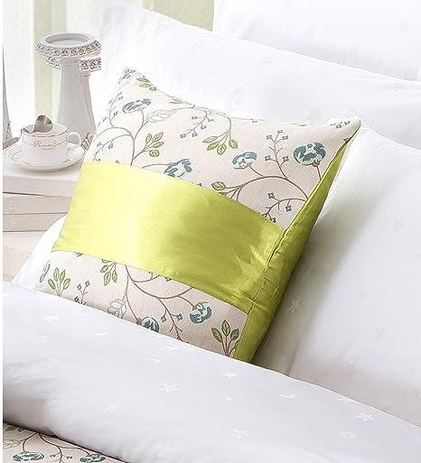 Amazon.com: OSVINO - Juego de 2 fundas de almohada de lino ...