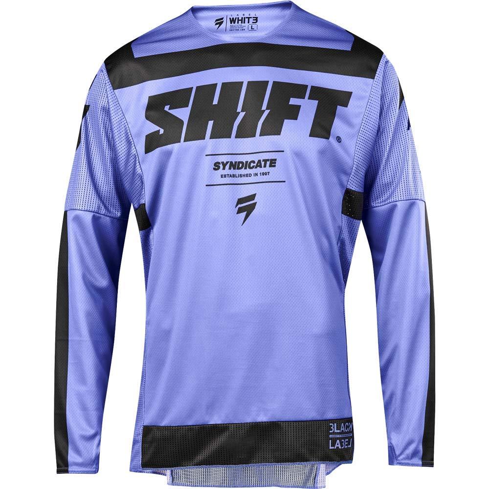 Shift 2019 Black Label Strike Jersey-Purple-M
