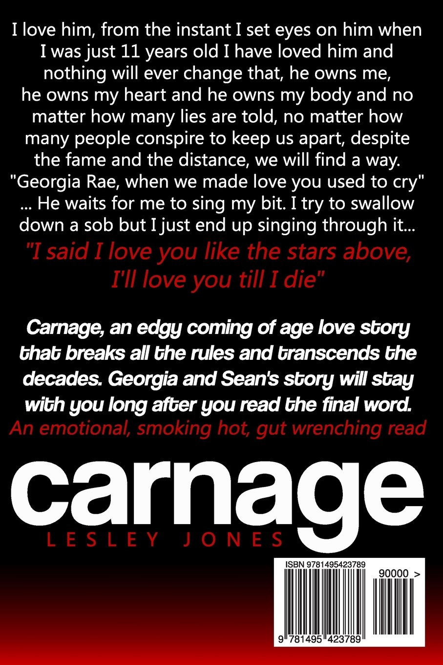 Amazon carnage book 1 the story of us volume 1 amazon carnage book 1 the story of us volume 1 9781495423789 lesley jones books fandeluxe Image collections