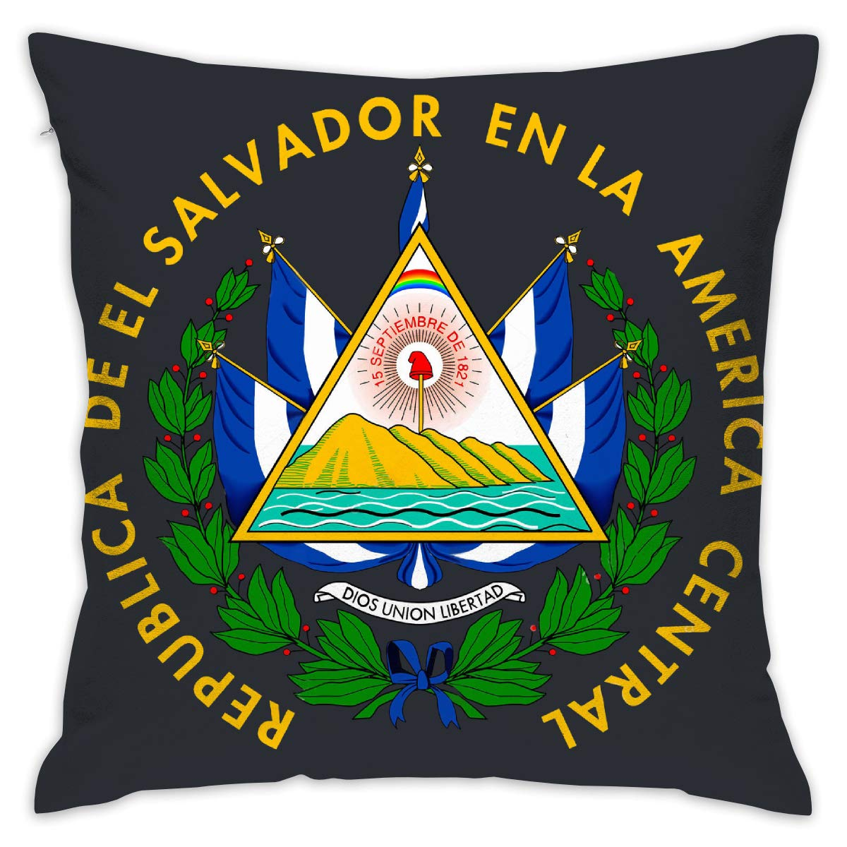 Amazon.com: Hdsghgj El Salvador Printing Hold Pillow Home ...