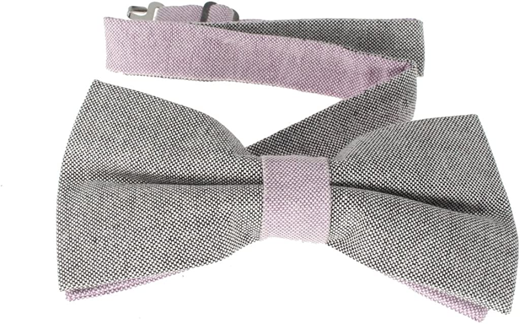Various Colors Glennbrook Mens Pre Tied Bow Tie Two Tone Pastel Collection