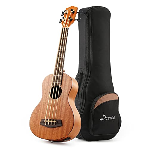 Donner DUB-1 30 inch Electric Bass Ukulele