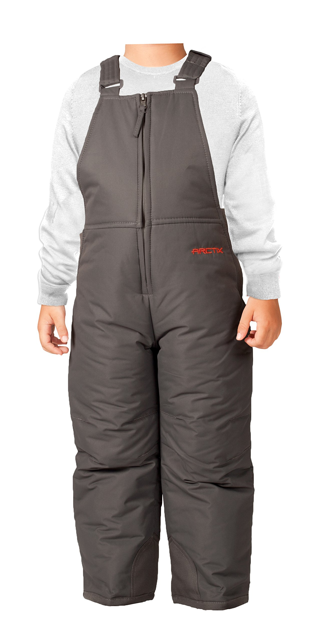 Arctix Infant-Toddler Chest High Snow Bib Overalls, Charcoal, 24 Months by Arctix