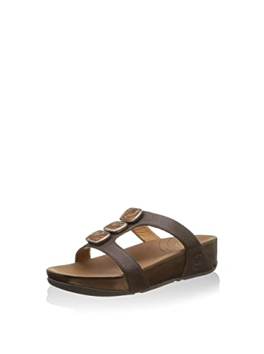 cf8472831c54fe Fitflop  Pietra Due Slide Ciabatta Fascia Sanda.  Amazon.co.uk  Shoes   Bags
