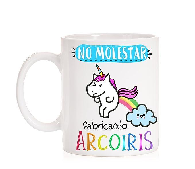 Taza de Unicornio Arcoiris
