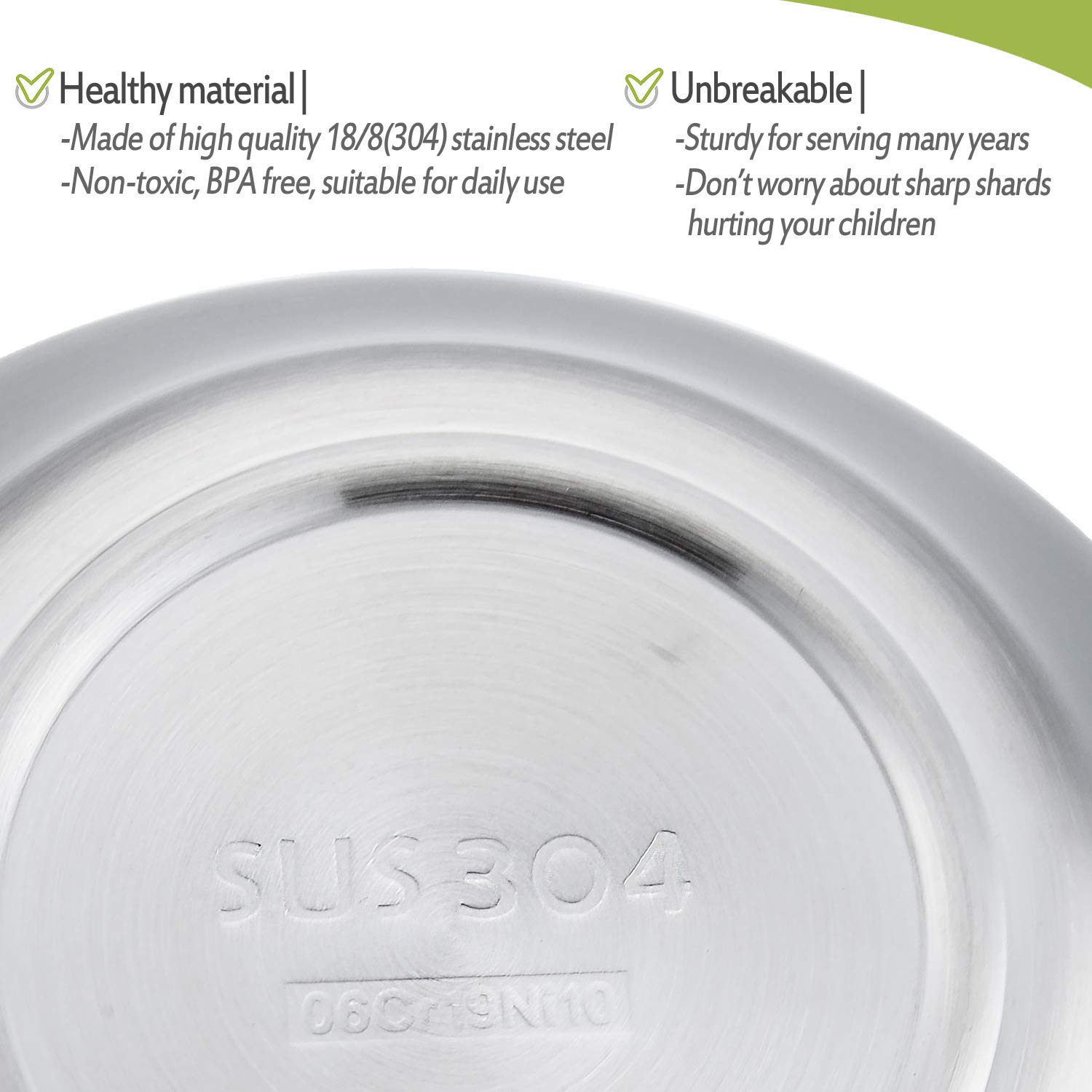 Heavy 18//8 Stainless Steel Toddlers Bowls Unbreakable and Dishwasher Safe HaWare 12 oz Feeding Soup Snacks Double Walled Bowls for Babies Kids BPA-Free 4 Pack
