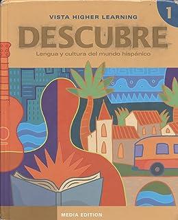 Descubre level 1 2014 edition student edition paul a krieger descubre nivel 1 lengua y cultura del mundo hispnico fandeluxe Gallery