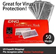 Disposal Medical Mask - 4Ply Medical Face Masks with Independent Packaged, Great for Dust, Germ and Virus Protection and Per