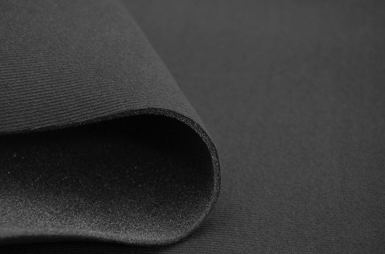 Forro SAM02 para el interior del techo del coche, de velvetón y con espuma de poliuretano laminada, color gris oscuro: Amazon.es: Coche y moto