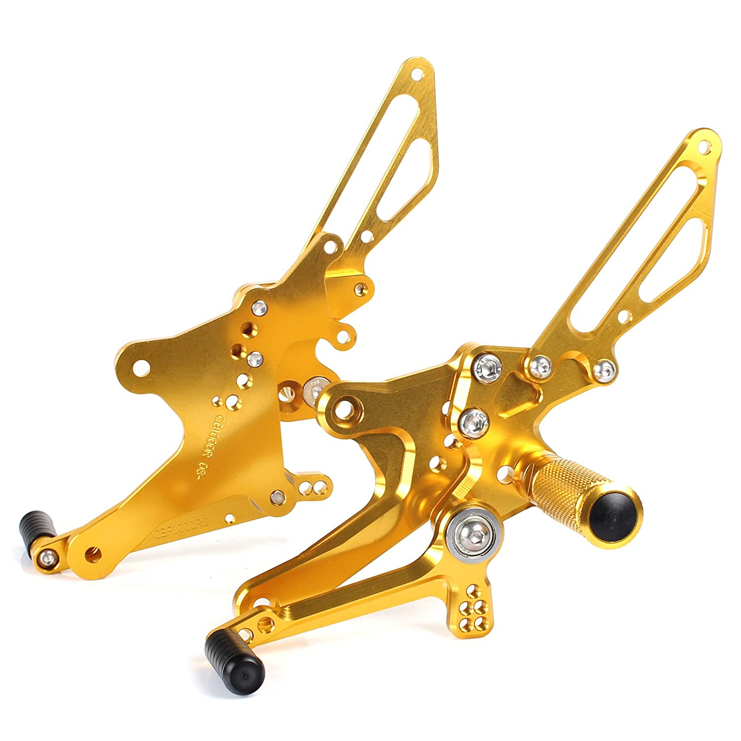 TARAZON CNC Adjustable Rearsets Rear Sets Footpegs for Honda CB1000R CB 1000 R 2008-2014 Thai-Racing Co. Ltd