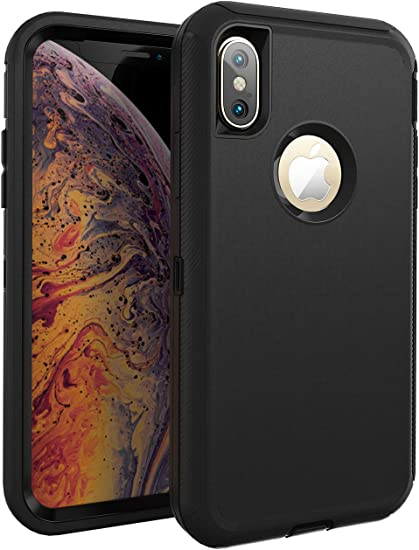 Black case cover Iphone xs iphone