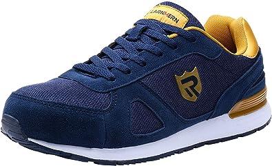 nuovi arrivi 102ff 72d51 Scarpe Antinfortunistiche Uomo con Punta in Acciaio,LM-123,Sneaker da  Lavoro Leggere ed Eleganti
