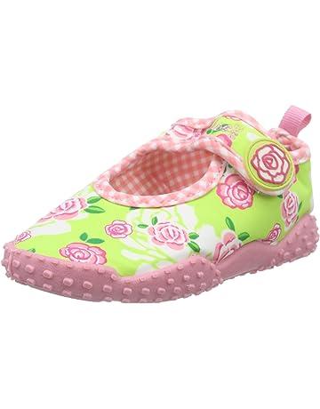 ae1457f1fa4d Playshoes Girls UV Protection Aqua Shoe Roses