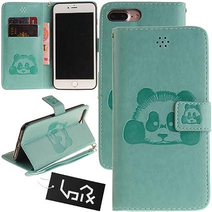 iPhone 7 Plus/iPhone 8 Plus Caso, Tarjeta Urvoix Soporte Mano ...